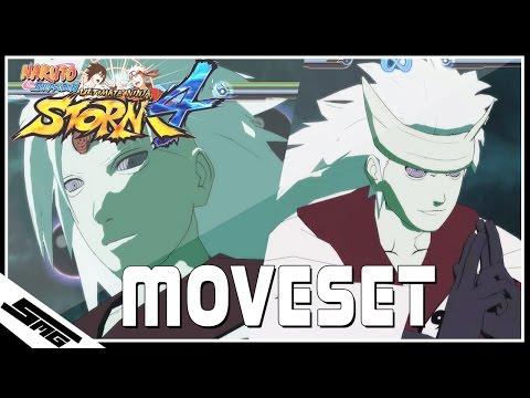 Naruto Ultimate Ninja Storm 4 - Six Paths Madara COMPLETE Moveset