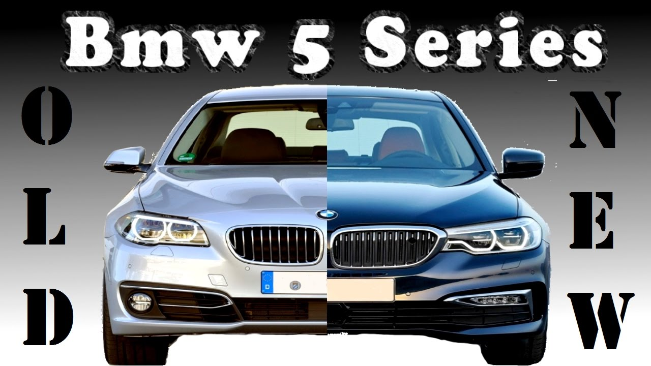 Old Bmw 5 Series Vs New Bmw 5 Series