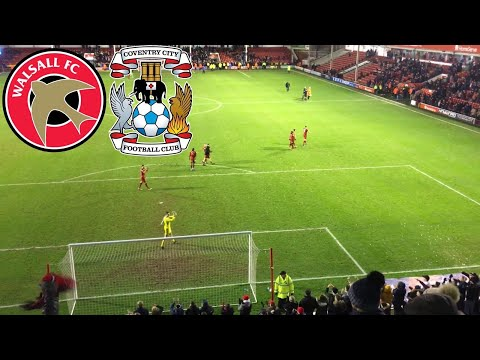 WALSALL VS COVENTRY *VLOG*! LIMBS EVERYWHERE