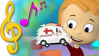 TuTiTu Songs | Ambulance Song | Songs for Children with Lyrics