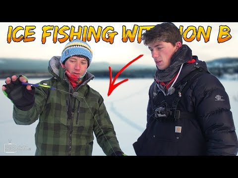 Fishing Perch at the ARCTIC CIRCLE with famous JON B | Team Galant (English Subtitles)