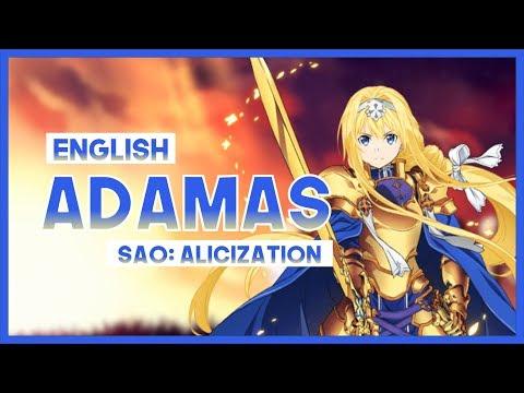 "【mew】""ADAMAS"" By LiSA ║ Sword Art Online: Alicization OP ║ ENGLISH Cover Lyrics"