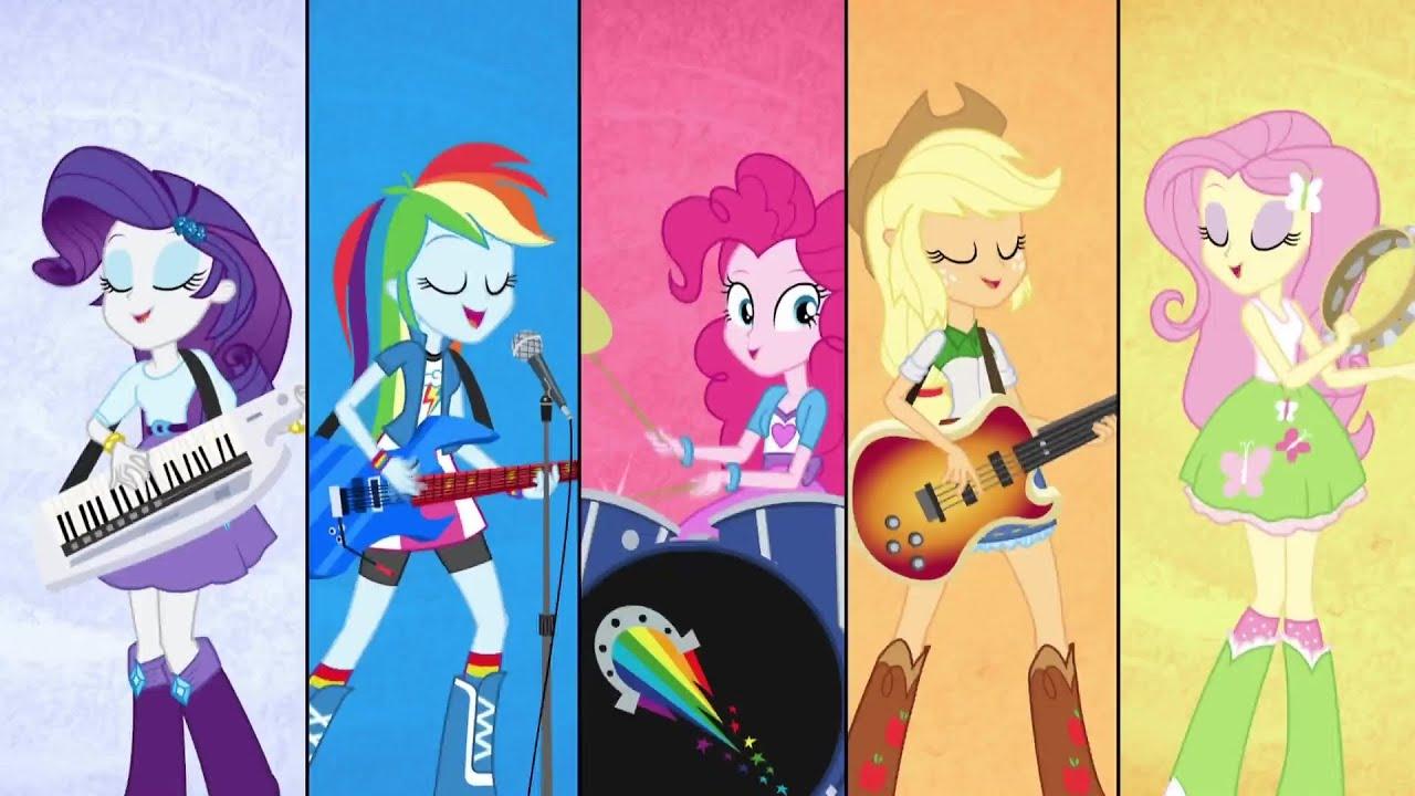 Mejor Que Nunca Estamos Mlp Equestria Girls Rainbow