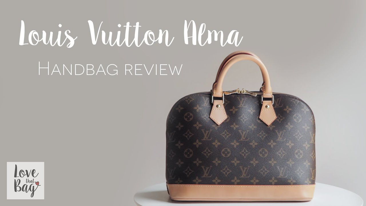 f2ecd532dea Handbag Review  Louis Vuitton Alma PM - YouTube