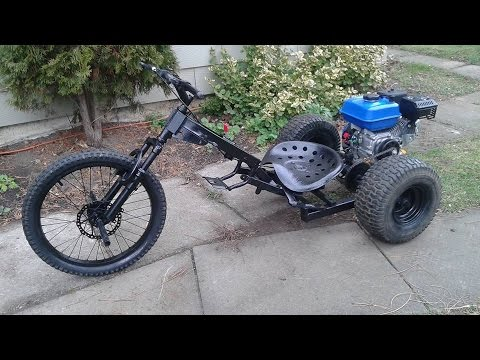 RCMC- Homemade Trike/ Drift Trike with a 7hp motor