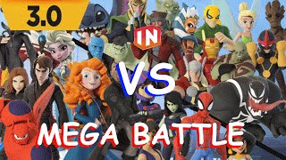 Disney Infinity 3.0 MEGA BATTLE!! (with commentary)