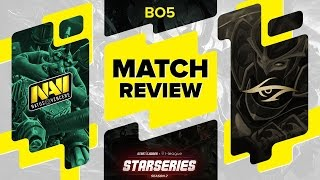MATCH REVIEW: Na`Vi vs Secret - BO5 @ SL i-League StarSeries S2 LAN Final