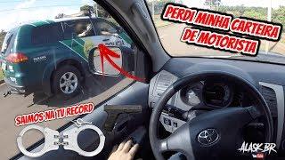 FUI PRESO PELA POLICIA E QUASE LEVEI UM TIRO (PERDI CARTEIRA DE MOTORISTA)