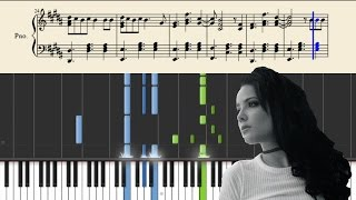 Halsey - Trouble - Piano Cover / Tutorial + Sheets Mp3