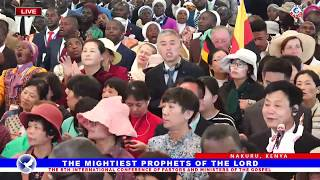 31 DECEMBER 2018  8TH INTERNATIONAL CONFERENCE OF PASTORS AND MINISTERS OF THE GOSPEL Part 2