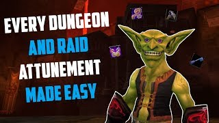 Classic WoW: Every Dungeon and Raid Attunement Made Easy