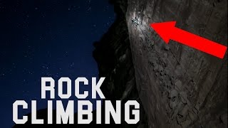 Rock Climbing In Moab Utah! Night and Day! [4k]
