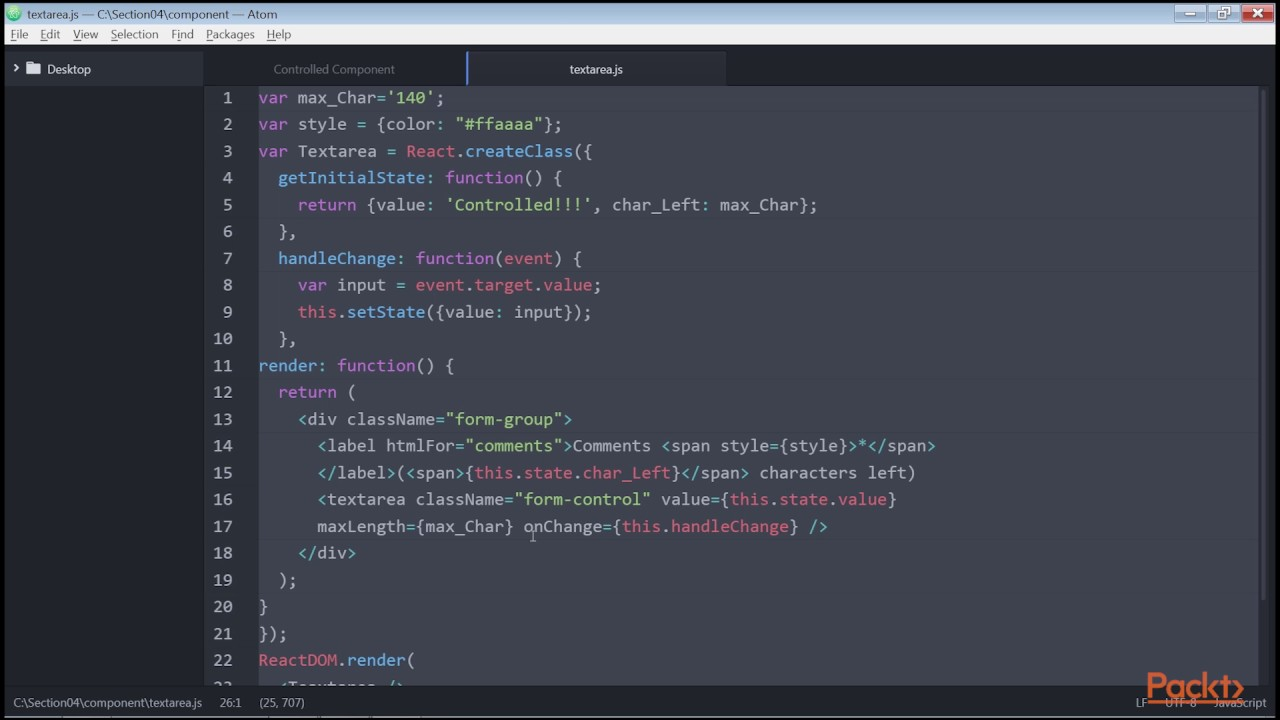 Building React Component with Bootstrap: BootstrapAlertComponent in React |  packtpub com