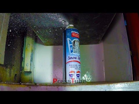 Hydraulic Press - Snow spray