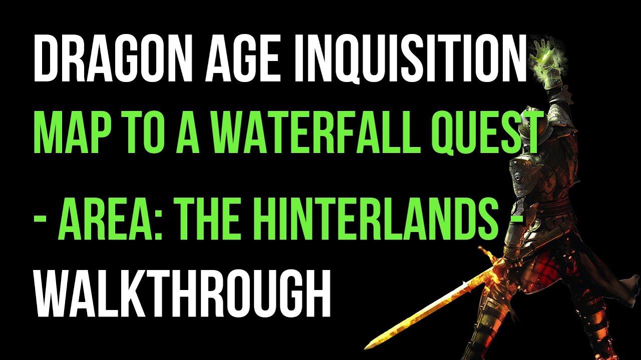 Dragon Age Inquisition Hinterlands Map Dragon Age Inquisition