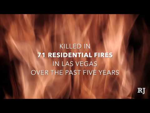 83 people killed in residential fires in Las Vegas Valley