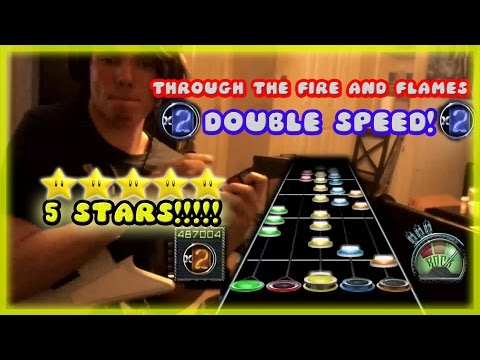 Through the Fire and Flames ~ DOUBLE SPEED ~ FIRST EVER 5 STARS!!!!!