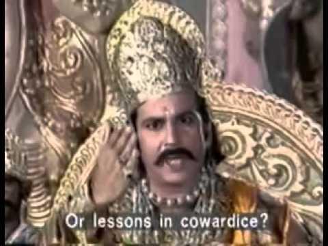Ravan - Vibhishan Samvad in Ramayan Ep.49