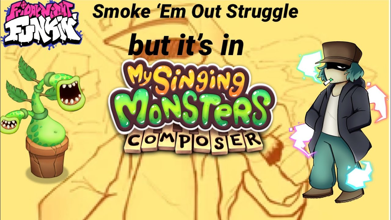 Download FNF Smoke 'Em Out Struggle (Vs. Garcello) OST but it's in MSM Composer
