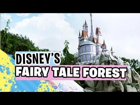FULL TOUR of Disneyland's Fairy Tale Forest   Hong Kong Disneyland 【 香港迪士尼樂園 】