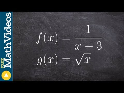 Evaluate the composition of a radical and rational function