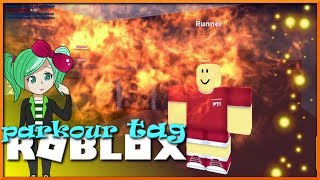 🔥C'est Lit, Fam! ROBLOX Parkour Tag An Obby with a Twist (fr) SallyGreenGamer Geegee92 Famille Amicale