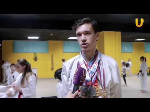 Новости UTV. Юные каратисты из Стерлитамака и Салавата приняли участие в соревнованиях в Уфе