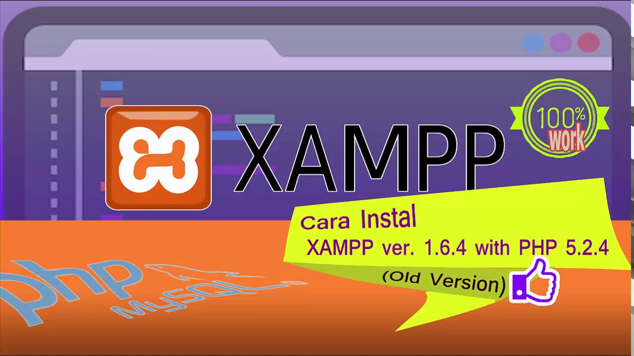 xampp old version php 5.2 download
