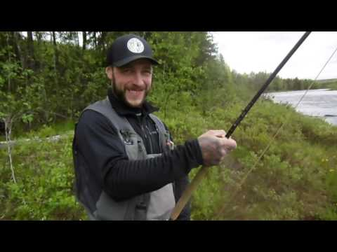 salmon tripp to the north of sweden 2016