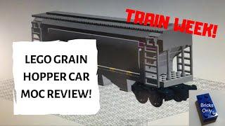 Lego Grain Hopper car MOC Review!