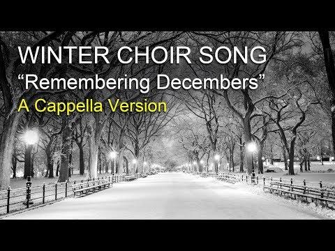 "A Cappella Winter Choir Song - Pinkzebra ""Remembering Decembers"" [Score Preview]"