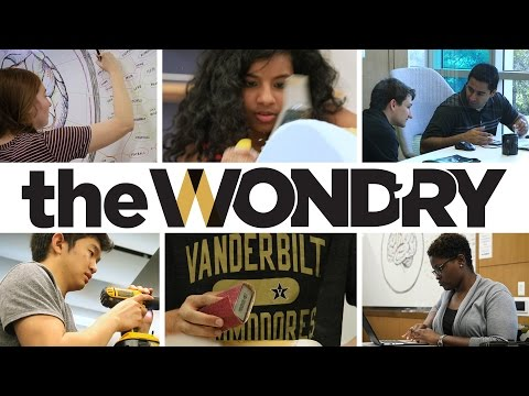 Explore the Wond'ry at Vanderbilt University