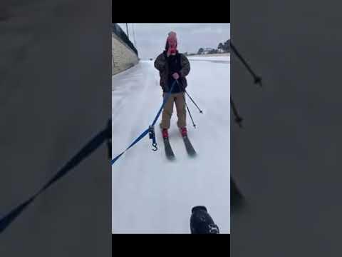 Guy-skis-down-I-10-in-Houston