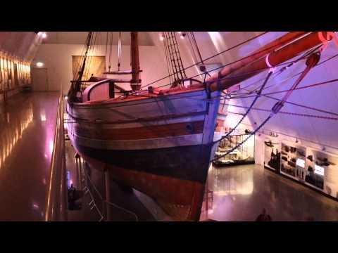 The Polar Ship Gjøa at the Fram Museum Bygdøy Oslo Norway