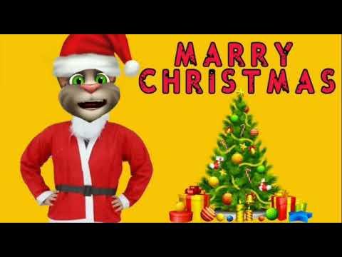 Happy Christmas Day Shayari // Talking Tom Happy Christmas Day Wishes Shayari