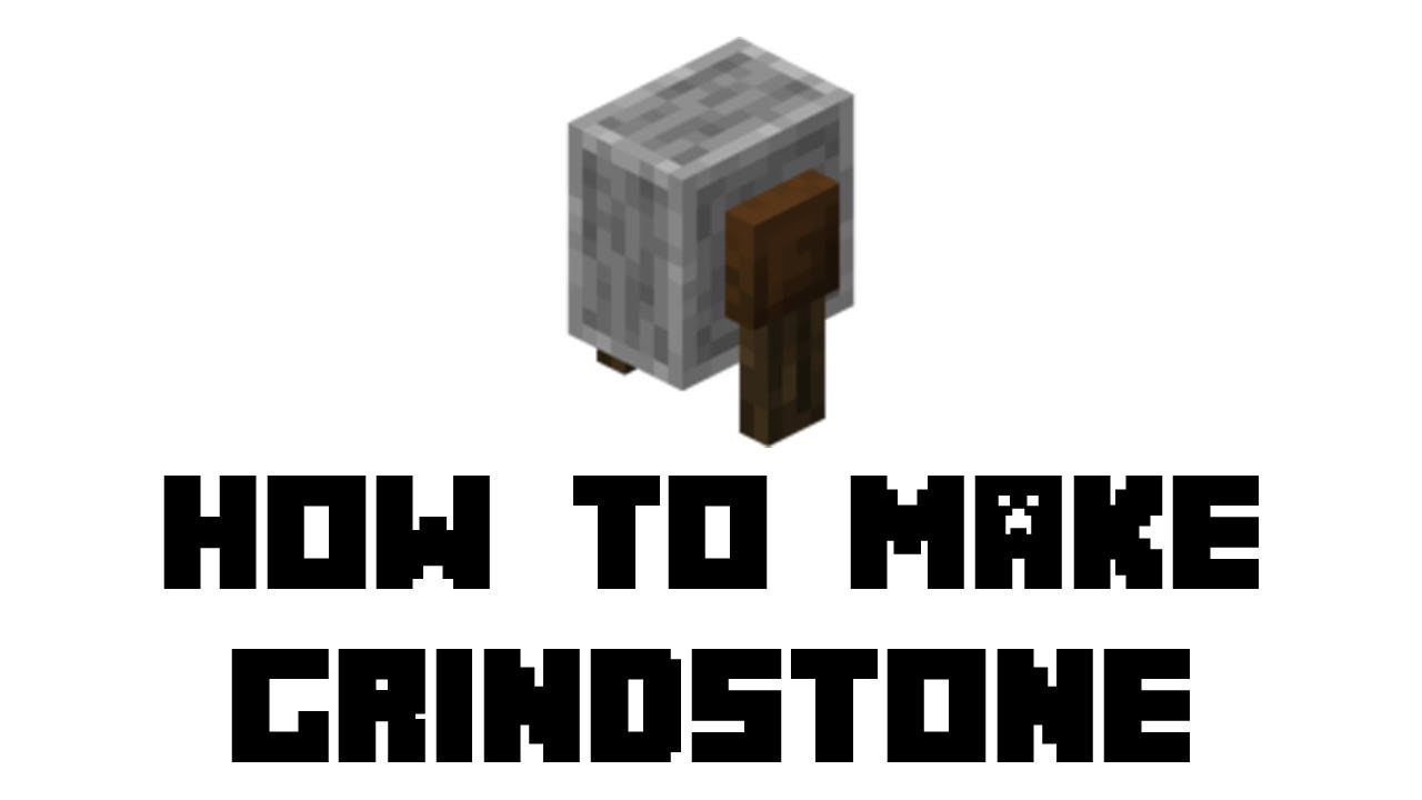 How To Make A Grindstone In Minecraft Materials Required Crafting Guide How To Use