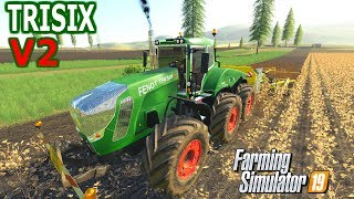 Farming Simulator 19 Mod Video Review Fendt Trisix V2