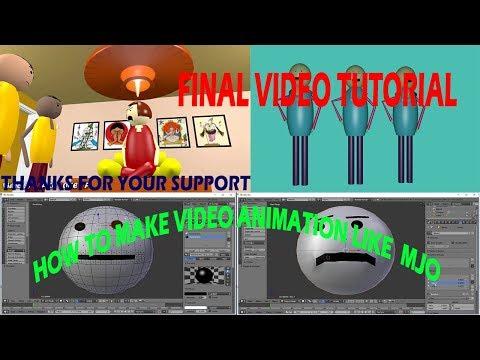 How to Make video animation Like Make Joke Of - Blender Tutorial in Hindi- Final Part thumbnail