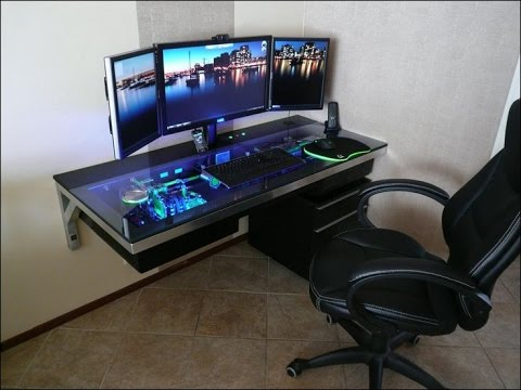 Nice Wall Mounted Computer Desk
