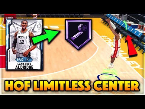 *NEW* DIAMOND LAMARCUS ALDRIDGE HAS HOF RANGE EXTENDER!! - NBA 2K20 MyTEAM Gameplay