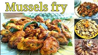 kanyakumari & Kerala Style Mussels Fry in tamil |Mussels Fry recipe |MUSSELS/சிப்பி-தோடு வறுவல்