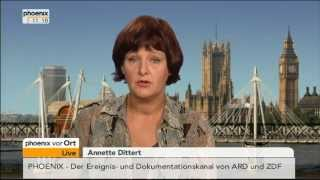 """Syrien: Einschätzungen von Annette Dittert nach dem britischen """"Nein"""" am 30.08.2013"""