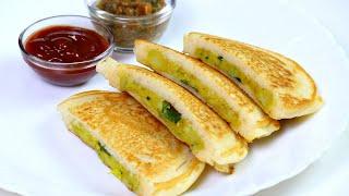 सूजी और आलू  का झटपट नाश्ता कम तेल में | Sooji Nasta Recipe | Best Breakfast Recipe | KabitasKitchen