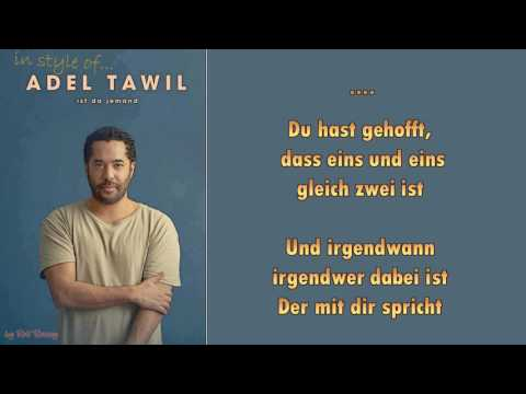 Adel Tawil  - Ist da jemand - Instrumental
