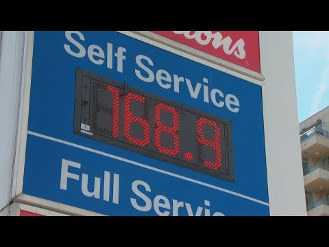 Gas Prices In B.C. Set North American Record