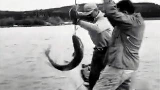 1950 Great Slave Lake Fishing - Grand Lac des Esclaves - Pesca en el Gran Lago del Esclavo - Canadá
