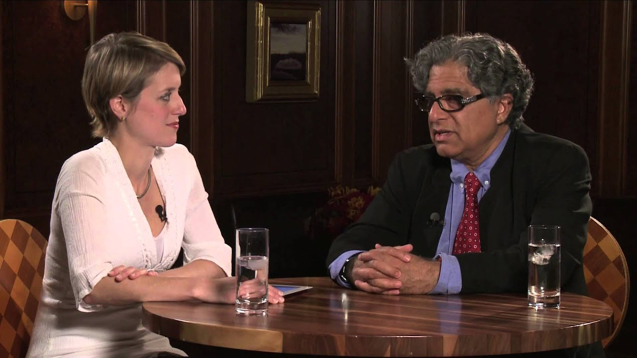 On the Red Couch with Deepak Chopra