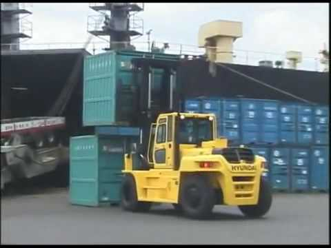 The largest Hyundai Forklift 160D-7E