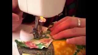 Лоскутное шитье для начинающих. Техника сумасшедший квилт