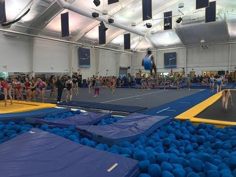 2017 Region 5 High Performance Gymnastics Training Camp- Tumbling Skills ▶28:17